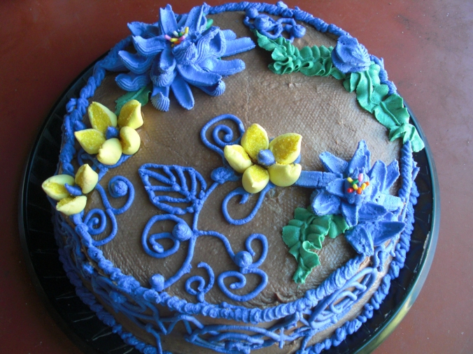 Chocolate Cake espresso buttercream