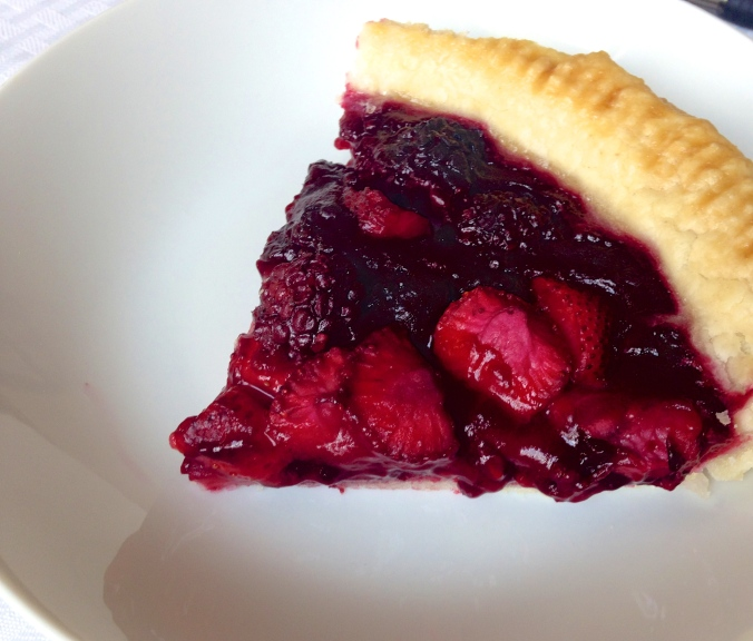 Gluten-free Mixed Berry Pie