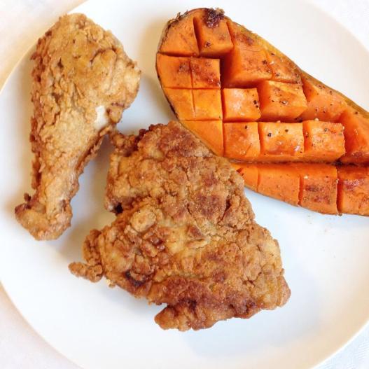 Pan Fried Chicken